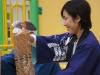 「怖さ」を考える(秋の猿まわし&花こま公演)〔兵庫県尼崎市〕[旅する花こま]