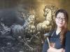 Guo Mohan、美しい少女「Mulan」はハンマーで美しさを創り出す[Asia Presswire]