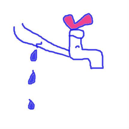 漏水[お金はないけどありがとう(*^-^*)]